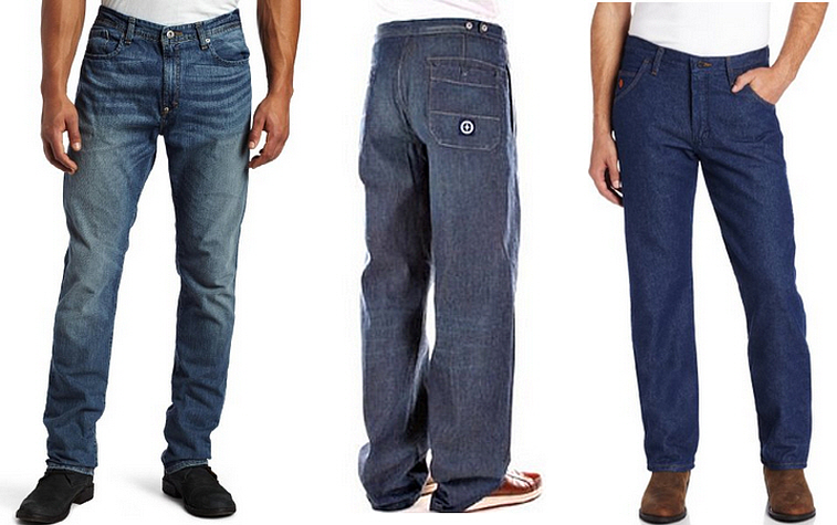 Mens lightweight denim jeans