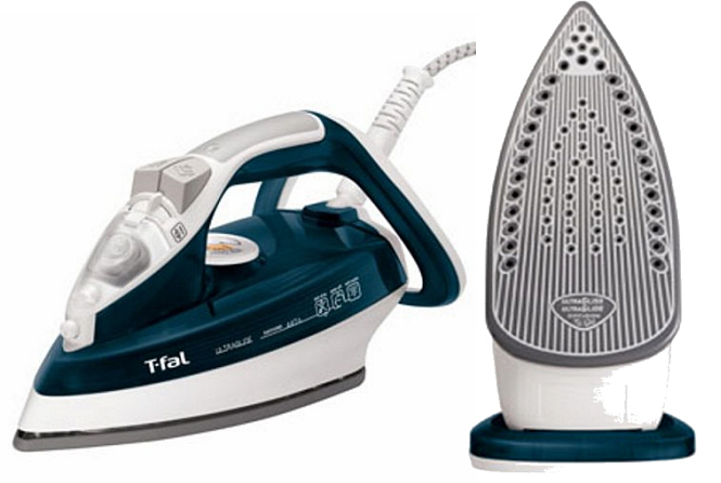 Non-stick electric clothes iron