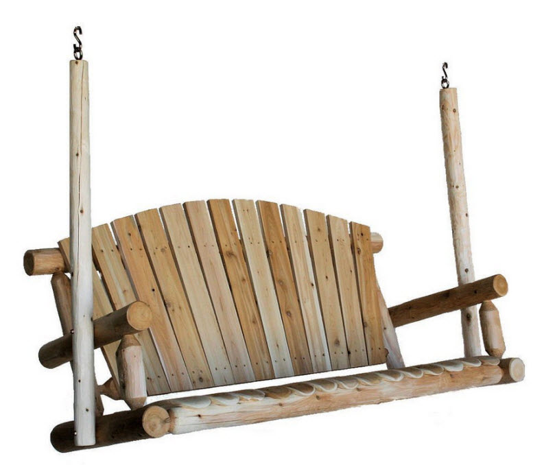 Cedar porch swings