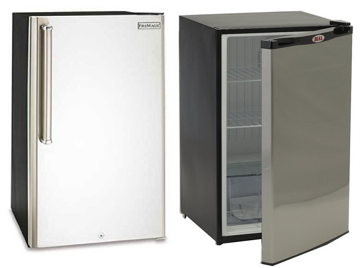 Patio refrigerators