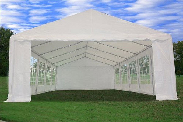 Outdoor tents for garden parties & weddings