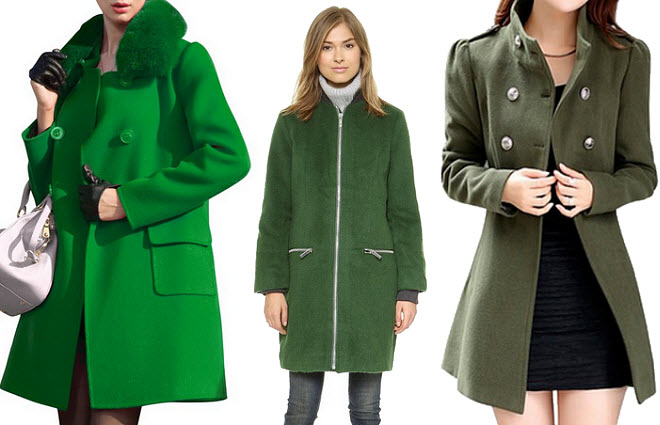 Green Wool Coat Womens - Coat Nj