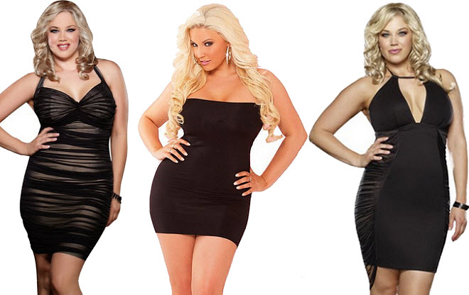 Plus-size sexy dresses