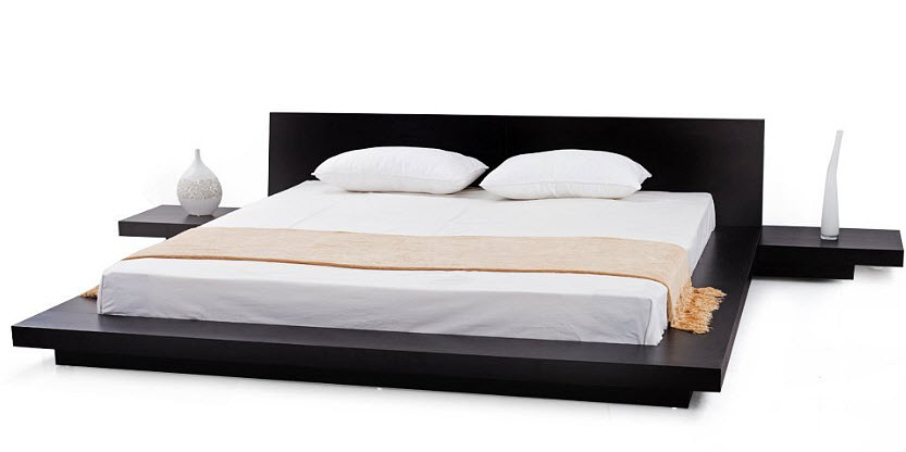 Queen Size Platform Bed Frame